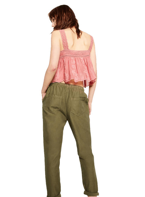Zara PEG LEG TROUSERS