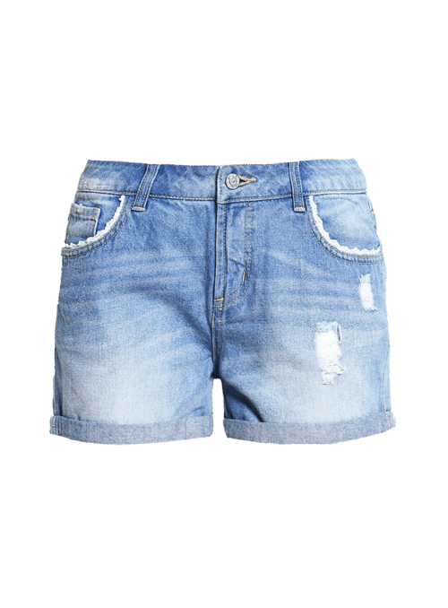 Vicki Straight Jeans Shorts