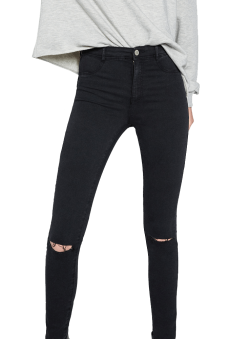 Zara HIGH ELASTICITY JEGGINGS
