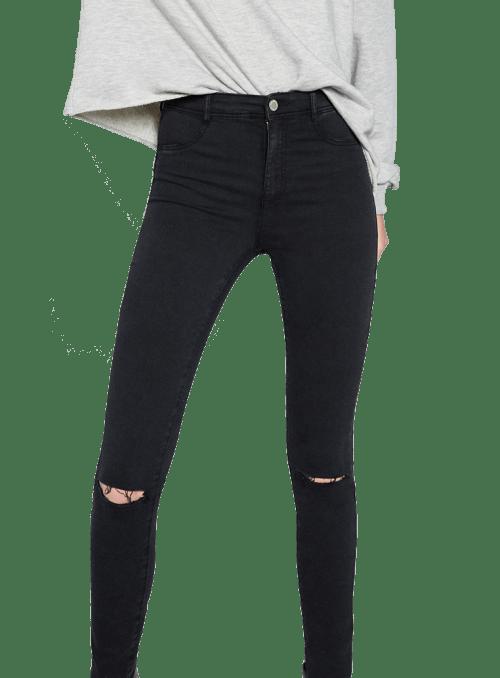 Zara HIGH ELASTICITY JEGGINGS